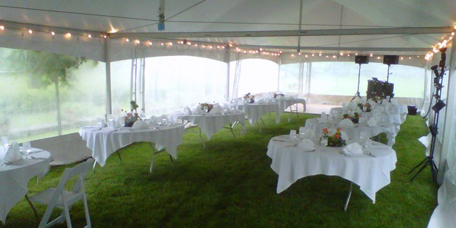 Outdoor Fall Weddings How To Keep Guests Warm Lakes Region Tent