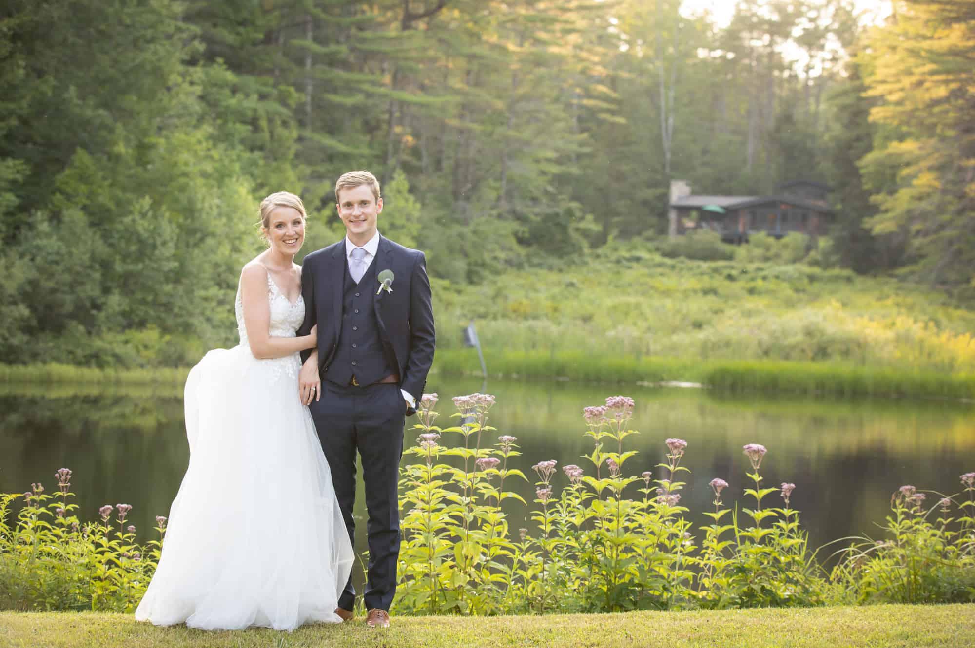 Trevor Amp Taylor S New London Nh Wedding Lakes Region