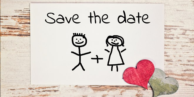 Save the Date Cards ...a Wedding Planning Nightmare?! | 330x660